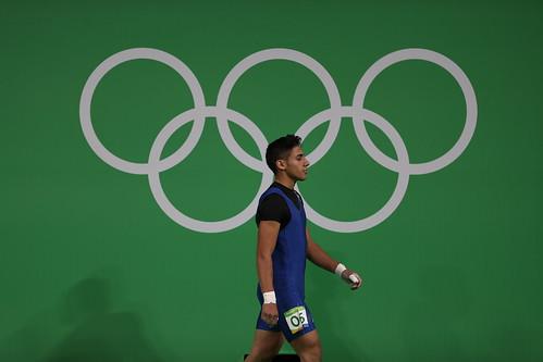 Edgar Pineda Zeta, segunda parte levantamiento de pesas Rio 2016