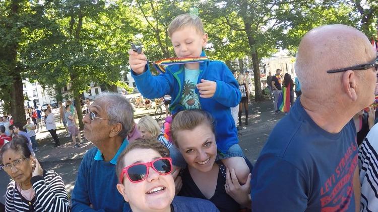 Brighton Pride family