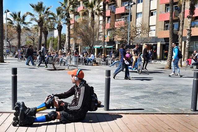 rollerblading barcelona