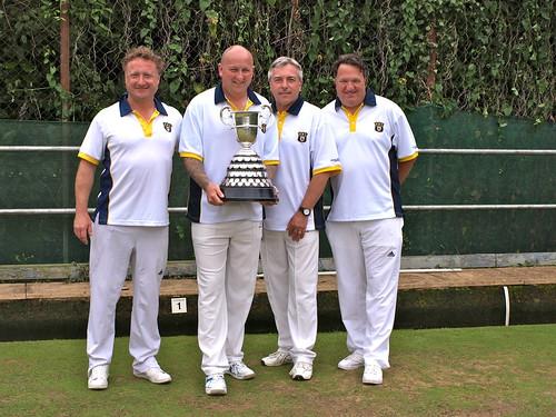 Men's county fours winners 2016