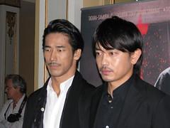 Actors Naoki Kobayashi and Sho Aoyagi