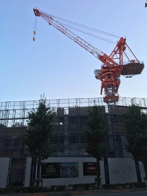 iPhone camera APP sky crane