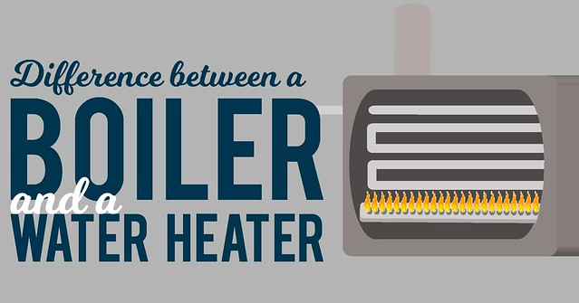 The Difference Between Boilers And Water Heaters