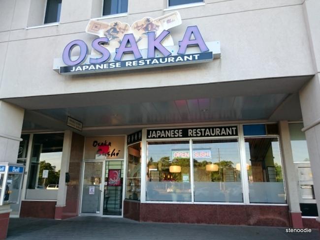 Osaka Sushi Japanese Restaurant exterior
