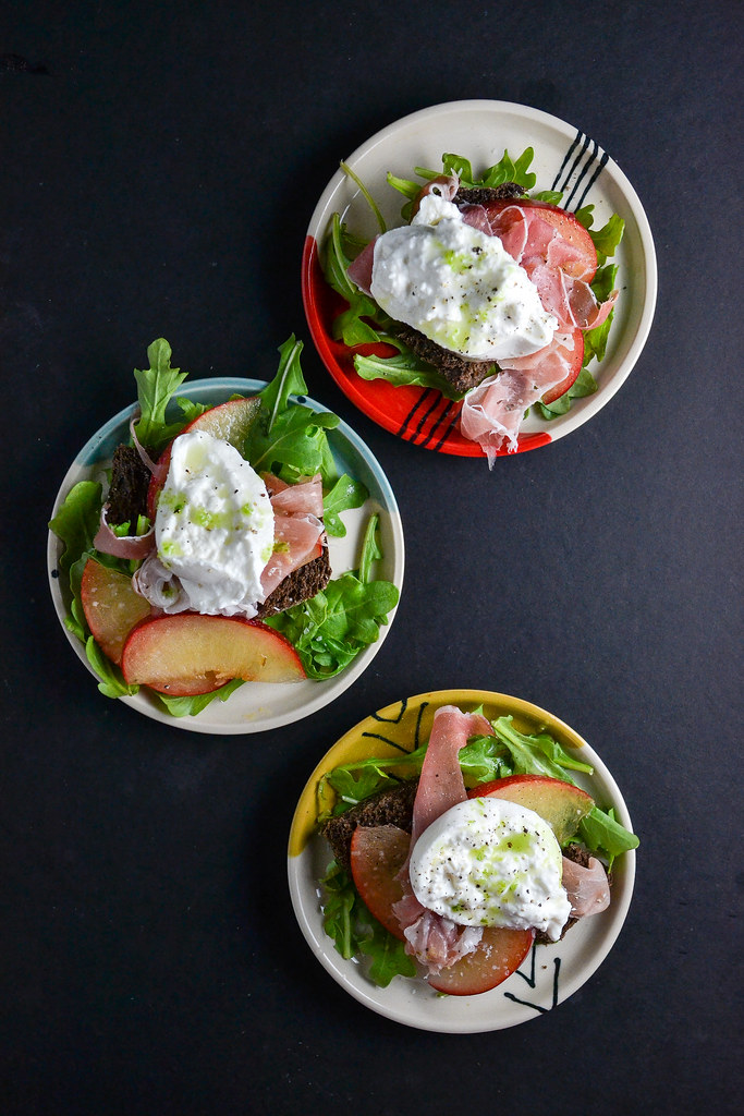 Plum, Prosciutto and Burrata Salad | Things I Made Today