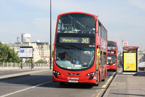 Arriva London North DW552 LJ13CDZ