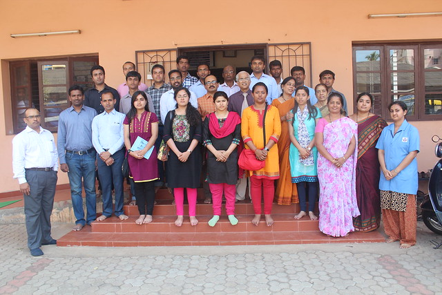IAS Officer Trainees of 2013 Batch Winter Study Tour at Chetana Centre
