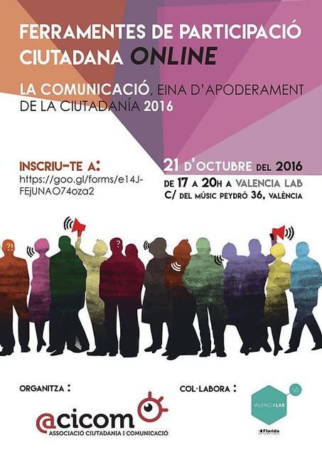 2016 Taller Ferramentes de Participació Ciutadana Onlin