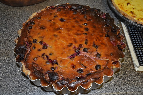 blackcurrant cheesecake July 16