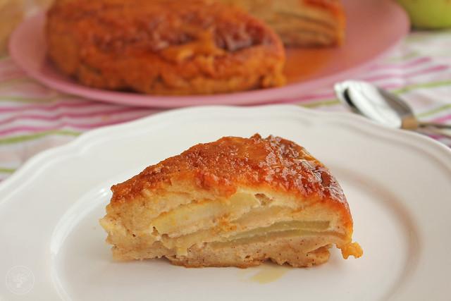 Tarta manzana y pan de molde micrrondas www.cocinandoentreolivos.com (7)