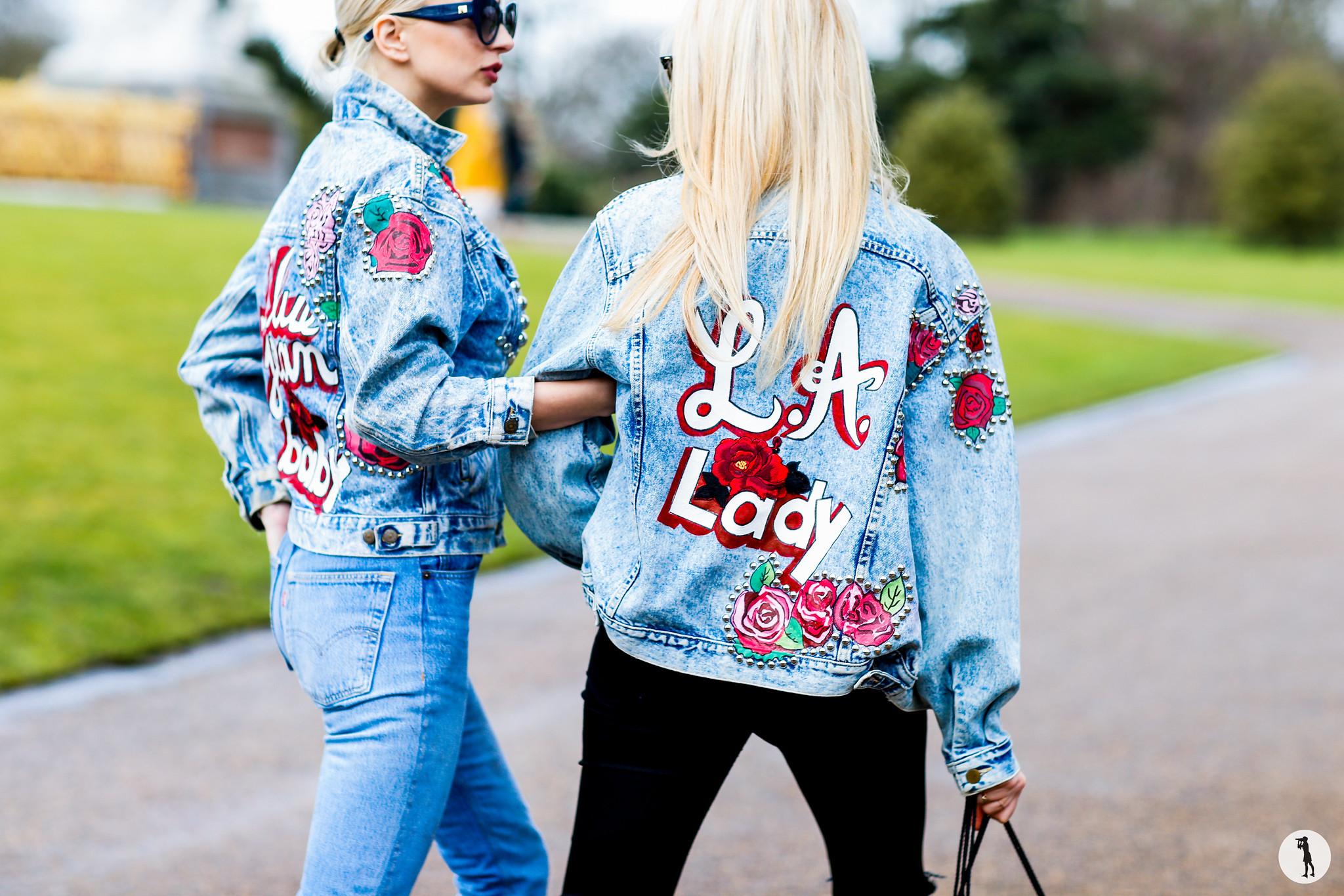 Caroline Vreeland and Shea Marie - London Fashion Week RDT FW16-17 (1)