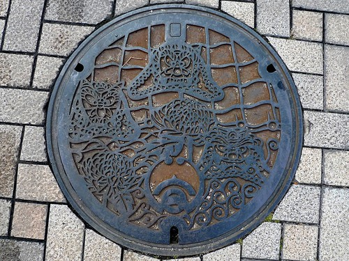 Takahama Aichi, manhole cover 2 (愛知県高浜市のマンホール2)