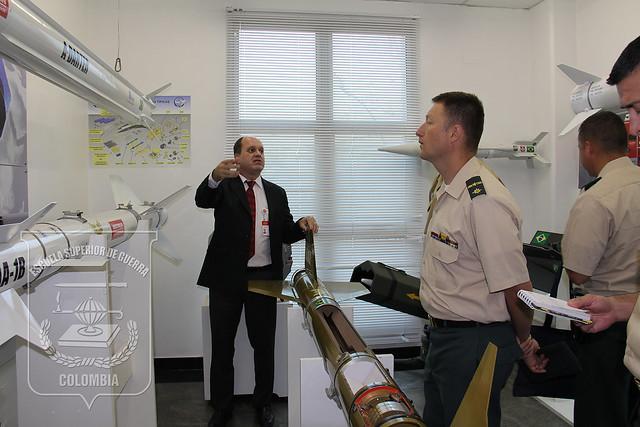 Alumnos del Curso de Estado Mayor (CEM) visitan empresa Mectron - Ingeniería , Industria y Comercio, Brasil