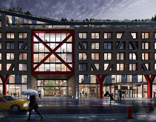 ЖК Bushwick II в Бруклине. Проект ODA architecture