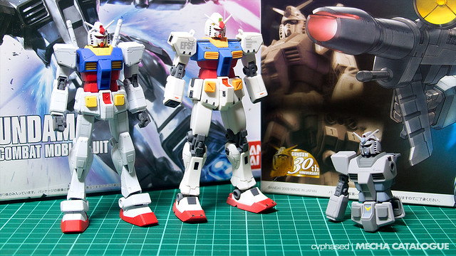 HGUC G-3 Gundam - Work in Progress #1