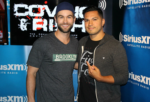 Chace Crawford on the Covino & Rich Show
