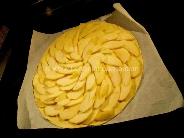 Tarte Fine de Pommes à la Noix de Coco © Ana Luthi Tous droits réservés 05