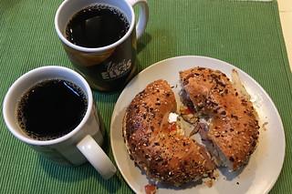Everyday Coffee - Peerless Coffee Guatemala Antigua Dark Bagel