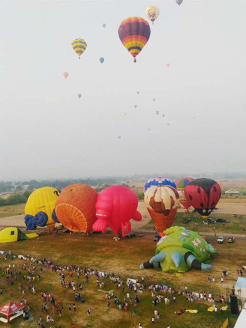 Lubao International Hot Air balloon Festival Duane Bacon Blogger Travel Experience