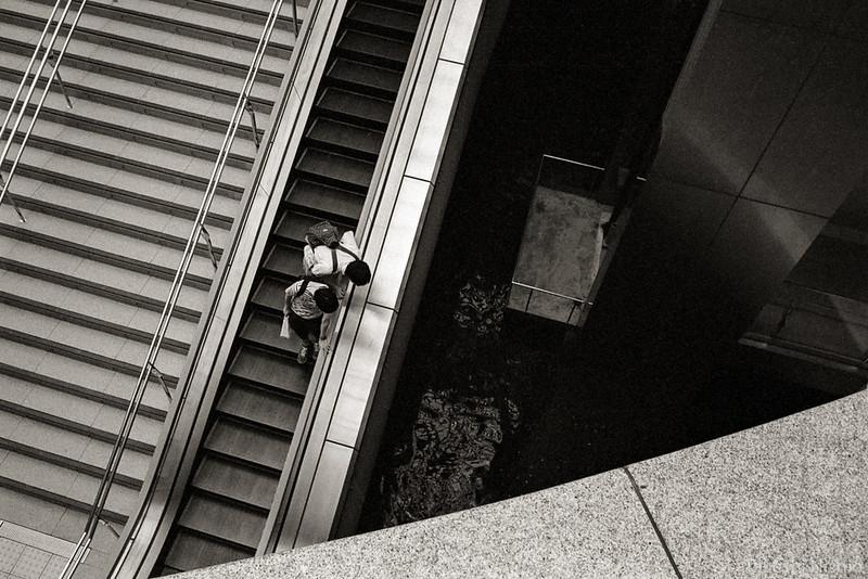 escalator + what's that?