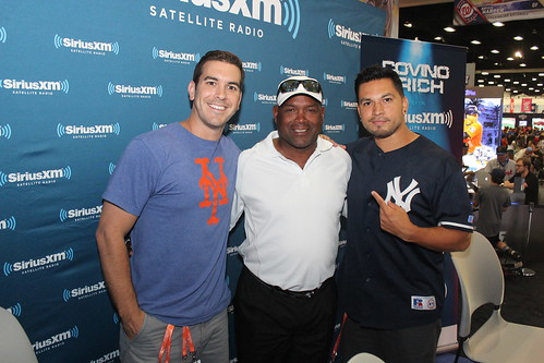 MLB All Star Fan Fest with Tim Raines