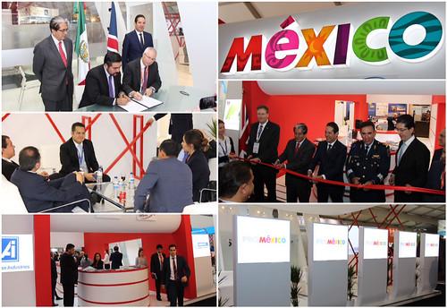 Promueve México inversiones en la industria aeroespacial