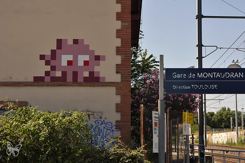 Space Invader Toulouse - TL_10