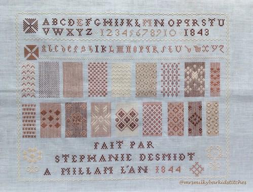 Stéphanie Desmidt 1844 Complete!