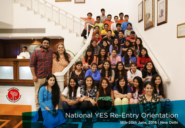 YES Re-Entry Orientation 2015-16 Batch