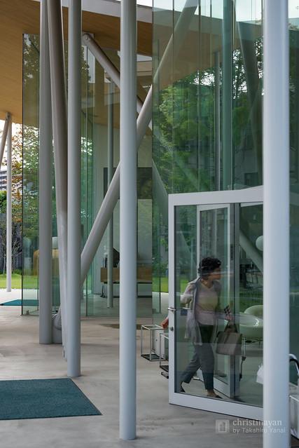 Inside of Okayama University, Junko Fukutake Hall (岡山大学 Junko Fukutake Hall)