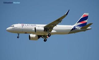 A.320-271 NEO SHK LATAM BRASIL F-WWBV 7126 TO PT-TMN PRIMEIRO A320 NEO DA AMERICA DO SUL 29 07 16 TLS
