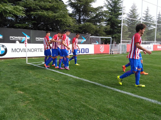 Atlético de Madrid B - Internacional de Madrid