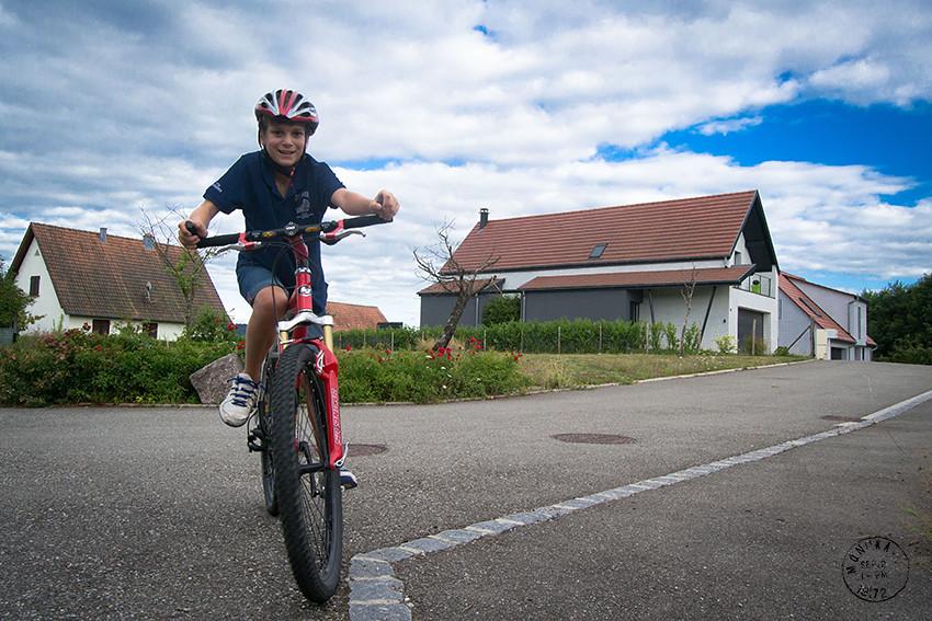 con bicis y a lo loco