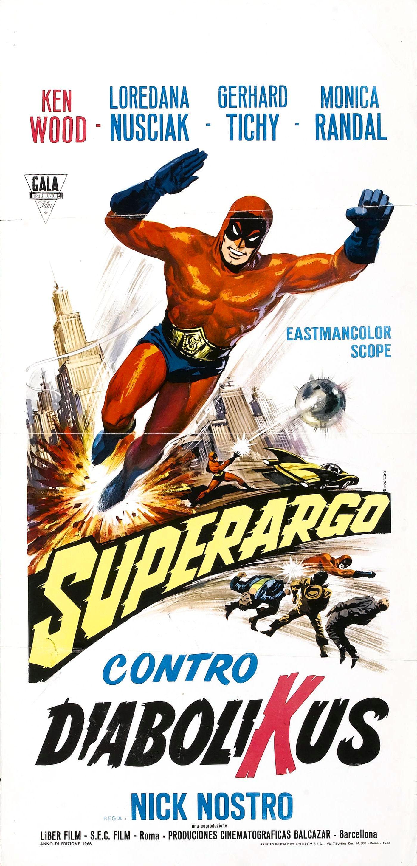 Superargo vs. Diabolicus (1966)