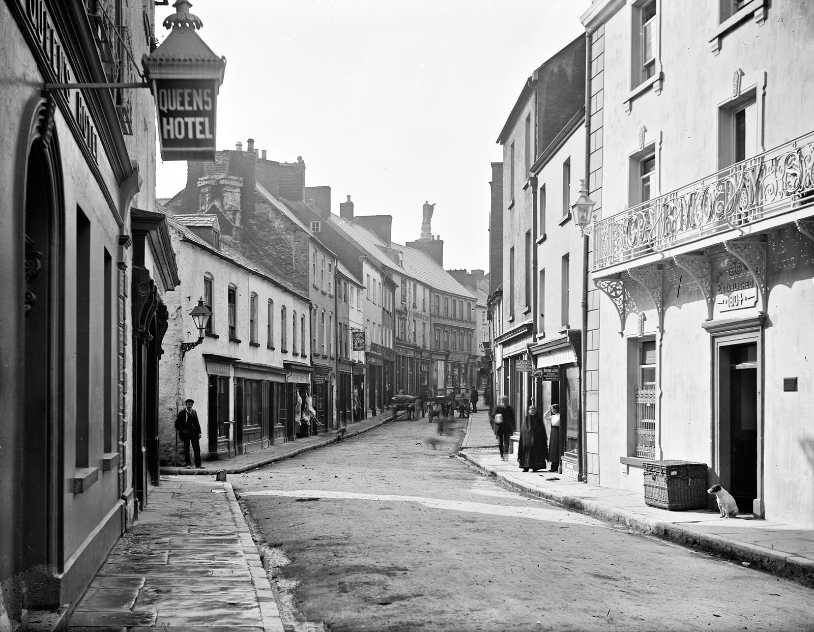 Abbey Street, Ennis, County Clare | by National Library of Ireland on The Commons