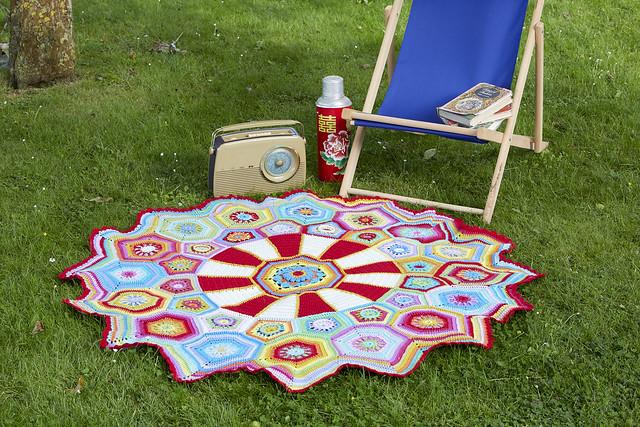Carousel blanket Sue Pinner CAL (2)