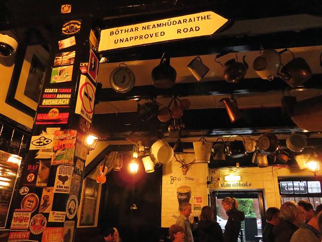 Kelly's Cellar Pub in Belfast, Ireland, UK