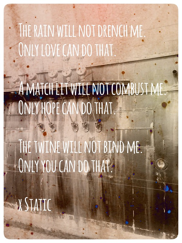poetry by Static
