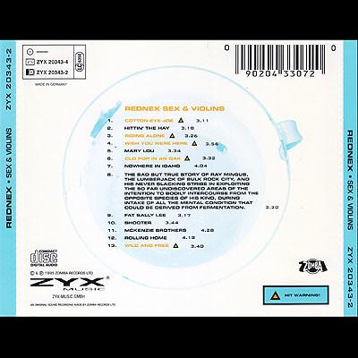 Rednex - Sex & Violins - Back