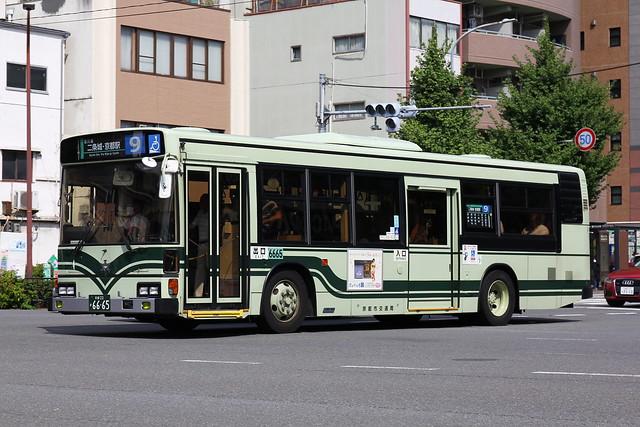 2016/09/02 京都市交通局 6665