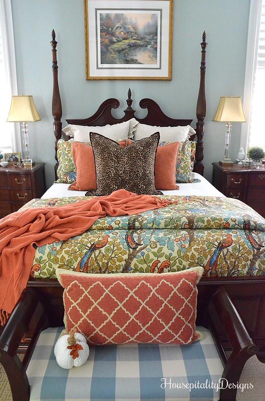 Master Bedroom - Pottery Barn Bedding - Housepitality Designs