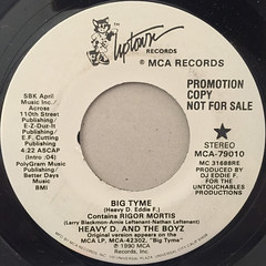 HEAVY D. AND THE BOYZ:BIG TYME(LABEL SIDE-A)