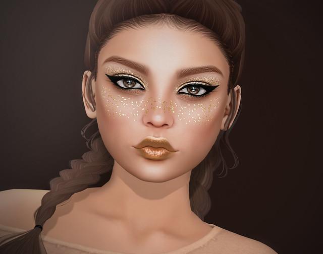 Glitter Freckles & Glitter Make-Up