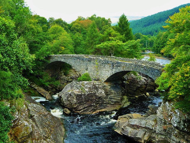 Telford Bridge, Invermoriston, Scotland.