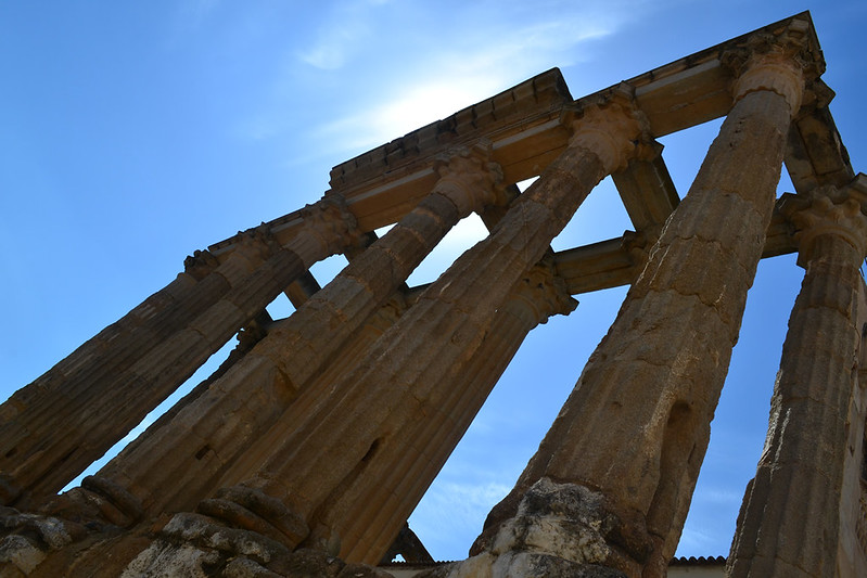 Monumentos romanos de Mérida. Los mejores de España.