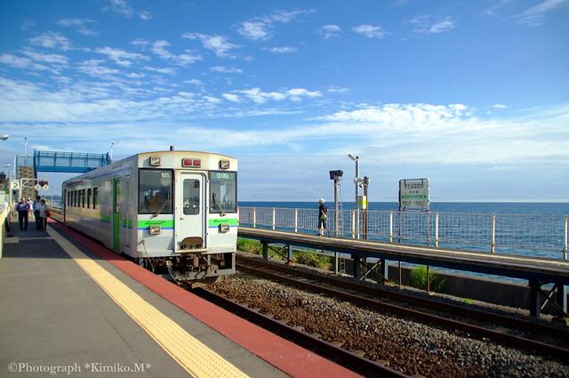 室蘭本線 北船岡駅①