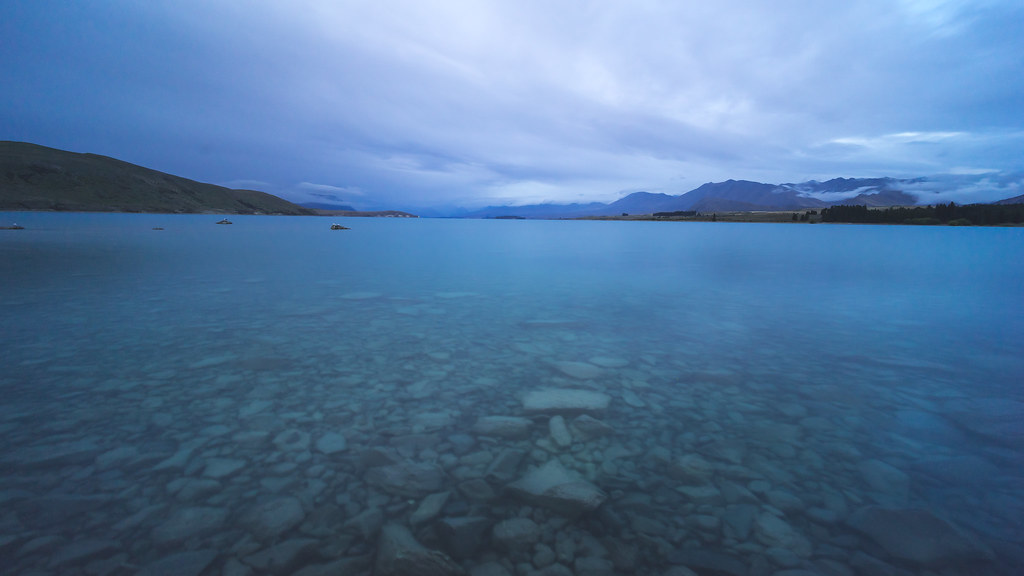 Lakeside of Lake Tekapo