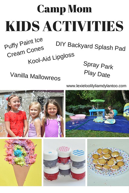 Kids Activities for Camp Mom