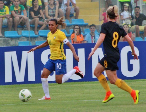 Brasil x Austrália - Amistoso Internacional - 25/07