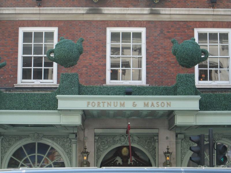 Fortnum and Mason Entrance